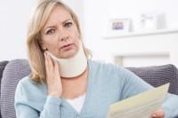 skręcenie kręgosłupa szyjnego i wyższe odszkodowanie