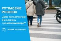 Potrącenie pieszego i wypłata odszkodowania dla osoby poszkodowanej