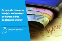 przewalutowanie kredytu we frankach po kursie z dnia podpisania umowy - jakie korzyści?