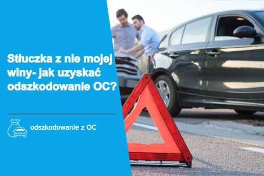 Helpfind - Stłuczka samochodowa z nie mojej winy - jak uzyskać odszkodowanie OC?